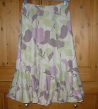 Monsoon Linen Flippy, Full Skirts for Women