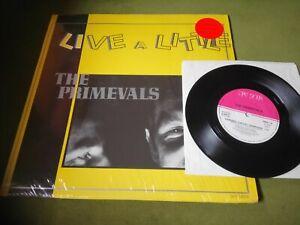 "PRIMEVALS-LIVE A LITTLE LP+7""(NEW ROSE-FRANCE)+INNER"