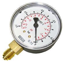 """Manometer senkrecht (KU/Ms),40, 50 und 63 mm, G 1/8"""" und G 1/4"""", Druckluft"""
