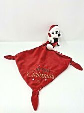NEW Disney Baby My First Christmas Mickey Mouse Santa Lovely Security Blanket