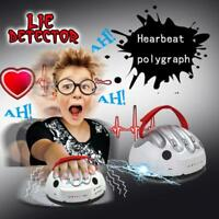 Polygraph Shocking Liar Micro Electric Lie Detector Test Truth Dare Game ER08