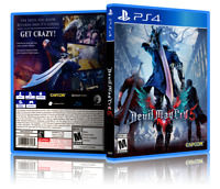 Devil May Cry 5 - ReplacementPS4 Cover and Case. NO GAME!!