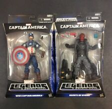 Marvel Legends WW2 Captain America and Agents of Hydra Figures NIP MOC Beautiful