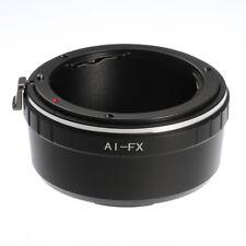 AI-FX Adapter Ring Nikon F Lens to Fujifilm X Mount Fuji X-Pro1 X-M1 X-T20 T2 US