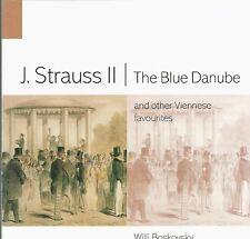 WILLI BOSKOVSKY violin Blue Danube & Other Viennese Favorites CD Strauss