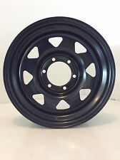 "DYNAMIC STEEL WHEEL ""SUNRAYSIA, GECKO STYLE""  15X8"" 5X139.7 -25 OFFSET RIM"