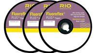 RIO FLUOROFLEX PLUS Tippet 30 yard Spool (Choose your size: 0X,1X,2X, 3X,4X,7X)