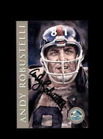 Andy Robustelli SGC Nm Mt 8 1998 HOF Signature Series New York Giants Autograph