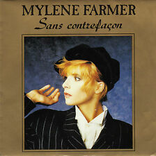 MYLENE FARMER SANS CONTREFACON / LA RONDE TRISTE FRENCH 45 SINGLE