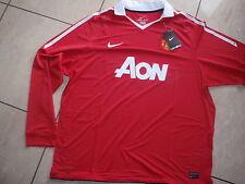 Nike neu Manchester United Trikot Homme Gr. XXXL rot (Wunschflock möglich)