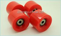 4x Brand New 59mm/78a Retro Cruiser Skateboard's Wheels With Bearings Fits Penny
