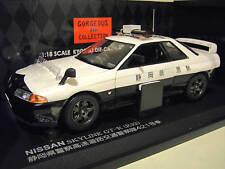 NISSAN SKYLINE R32 GT-R PATROL 421 POLICE 1/18 KYOSHO 08366B