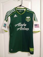 Portland Timbers Adidas Authentic Home 2011 - 2012 Jersey Size Small