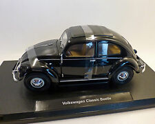 "vw-käfer, ""Pretzel"" Ventanas, negro 1:18 , welly"