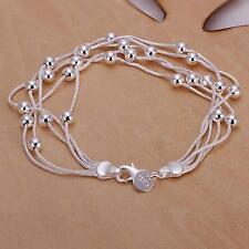 beautiful Fashion HOT SALE new silver charm Cute bead pretty PARTY bracelet lady