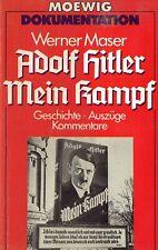 Maser - Hitler Mein Kampf * Geschichte Auszüge Kommentare