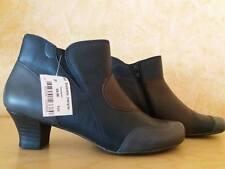 Anti- Shock Reflexan Kurz Stiefelette NEU Gr. 38 blau grau braun & Nappa Leder