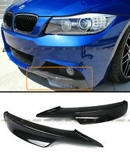CARBON FIBER FRONT BUMPER SPLITTER LIP FOR BMW E90 335i 328i LCI M TECH BUMPER