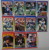 1990 Score Dallas Cowboys Team Set of 11 Football Cards