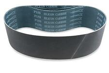 4 X 36 Inch 80 Grit Silicon Carbide Sanding Belts, 3 Pack