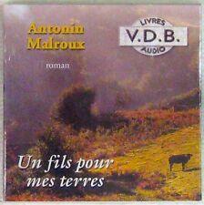 Antonin Malroux Un fils pour mes terres Livre Audio VDB MP3