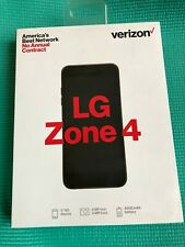 Verizon Prepaid - Zone 4 LM-X210VPP 16GB Memory Prepaid Cell Phone Moroccan Blue