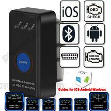 ELM 327 Bluetooth 4.0 OBD2 Car Diagnostic Scanner apple IOS android windows