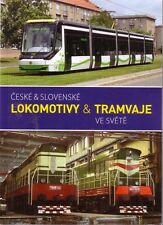Book - Czech Slovak Locomotives Trams Exports - Ceske Lokomotivy Tramvaje Svete