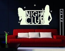 Night Club - highest quality wall decal stickers