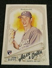 2018 Topps Allen Ginter Walker Buehler Rookie Card Dodgers