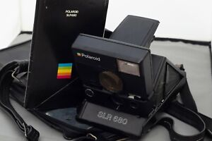Polaroid SLR 680 camera with case original working  condition  - owned from new