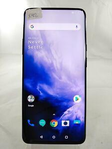 "OnePlus 7 Pro GM1917 256GB AT&T GSM Unlocked Dual SIM 6.6"" Smartphone X402"
