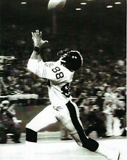 LYNN SWANN 8X10 PHOTO PITTSBURGH STEELERS NFL FOOTBALL PICTURE B/W ACTION