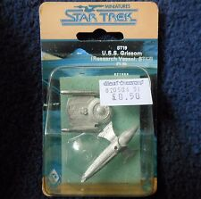 1986 ST19 Star Trek U.S.S. Grissom Research Vessel STIII Citadel FASA Ship MIB