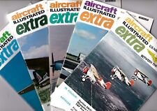 Various Issues of AIRCRAFT ILLUSTRATED EXTRA Magazine from 1969-1970