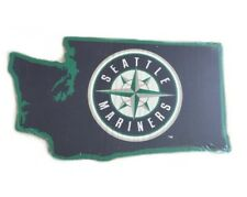 Seattle Mariners MLB Baseball Logo State Outline Wall Art Decoration Sign
