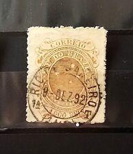 stamp brazil old 77 Republica Cruzeiro do Sul 1000 Reis 1892 RHM US$ 27