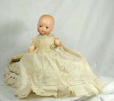 Antique A.M Armand Marseille Dream Baby Bisque Doll Germany Original Clothes 7""