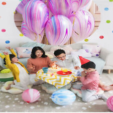 10Pcs/Lot Marble Agate Latex 12 Inch Balloon Party Birthday Decro Baby Shows Hot