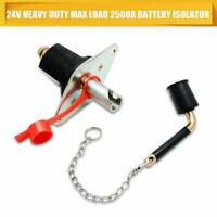 12V 24V Disconnect Battery Isolator Cut Off Kill Switch Key Car Marine Boat AU
