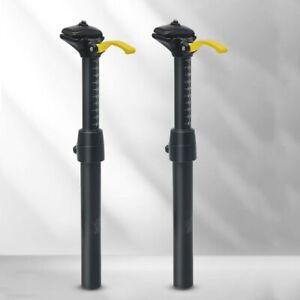 MTB Bike Height Adjustable Dropper Seatpost 30.9/31.6*375MM Manual Seat Tube