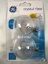 7 Packs GE Crystal Clear 2 Decorative Light Bulbs M22A 14 Bulbs New In Packaging