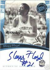 2007 PRESS PASS LEGENDS BLUE AUTO: SLEEPY FLOYD - AUTOGRAPH GEORGETOWN HOYAS
