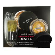 bareMinerals MATTE SPF 15 Foundation - Medium Tan 0.01 oz. Trial + Mini Buki
