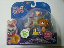 Littlest Pet Shop - Prized Pets - #1830 RAT and #1831 CHOW CHOW DOG New RARE