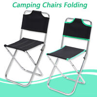 Stühle Portable faltbarer Campingstuhl für Fishing BBQ Platz Wandern Klettern
