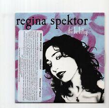 (JA207) Regina Spektor, Fidelity - 2006 DJ CD