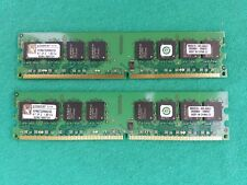 2GB DDR2-667 PC2-5300 RAM memory kit ( 2 x 1GB ) Kingston KVR667D2N5K2/2G 667mhz