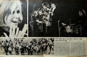 The Rolling Stones The Time They Use Aftershave Is the Time... Article 1964
