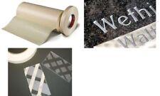 tesa Papierabdeckband spezial für Glas & Stein 50mm x 50m Heimwerker Klebemittel